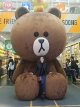 Line Friends store in Myeongdong